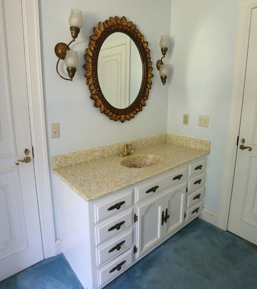 Vanity Insanity Learn How To Remodel Your Guest Bath Diy Projects Diy Diy Projects Projects