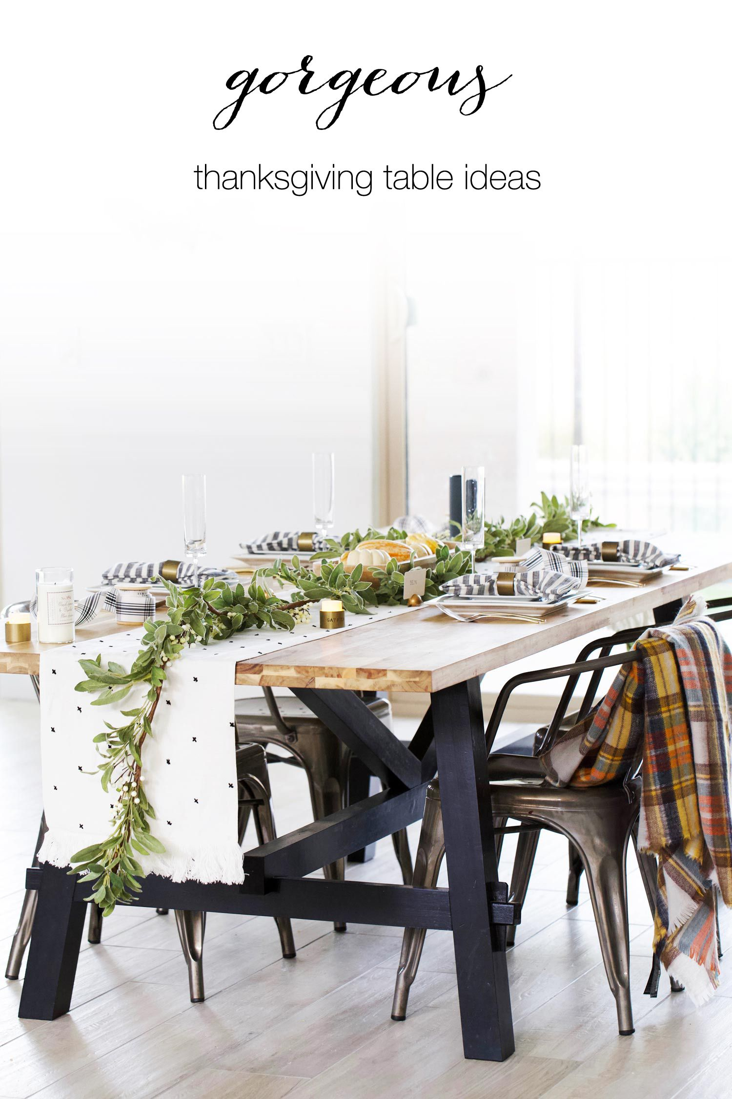 Nov 21 Our Thanksgiving Tablescape   Pinterest   Table settings and ...