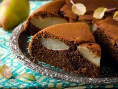 Tarte poires chocolat et noisettes : Recette de Tarte poires chocolat et noisettes - Marmiton