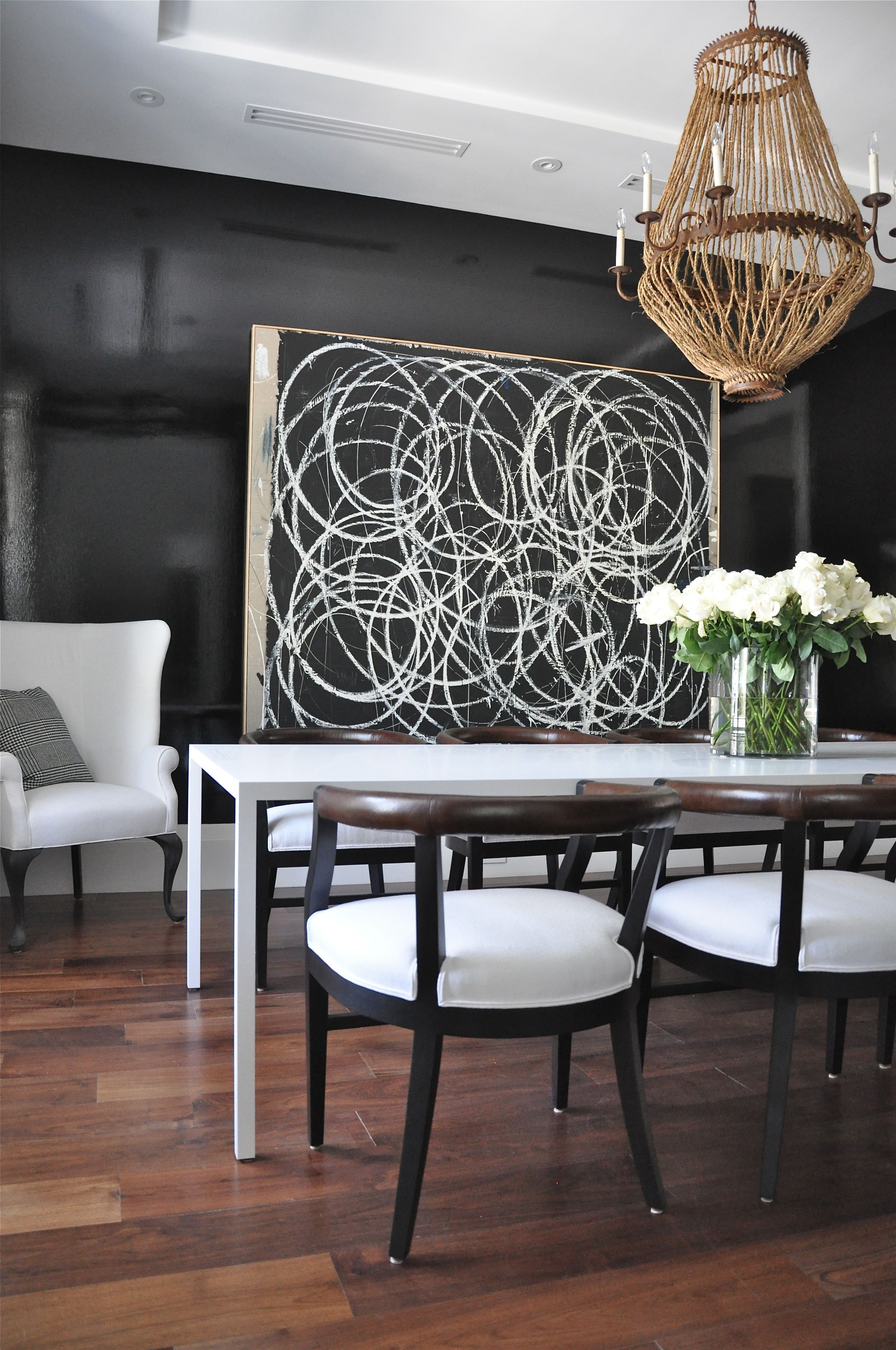 Pin By Alexis Vo Kwan On Dining Home Decor Styles High Gloss Dining Room Wall Decor