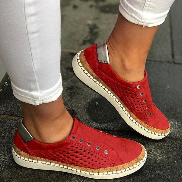 Photo of Casual Solid Color Sneakers