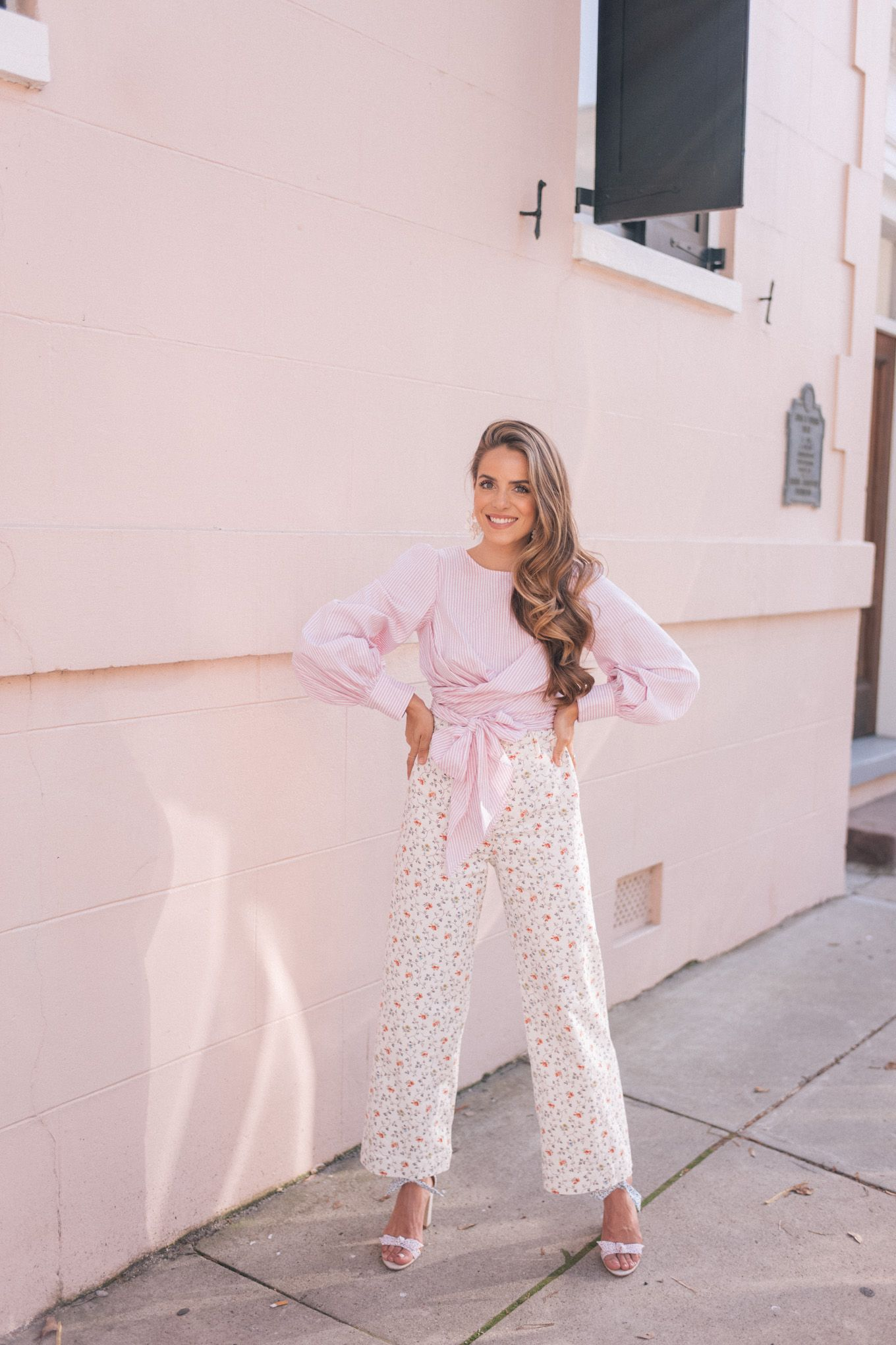 dcf7410ebd Gal Meets Glam Why I Love These Floral Pants - Wayf Top