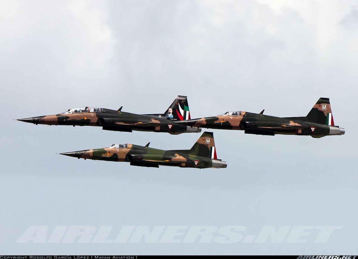 """FAM Mexican Air Force """"Fuerza Aérea Mexicana"""" F5 Tiger"""