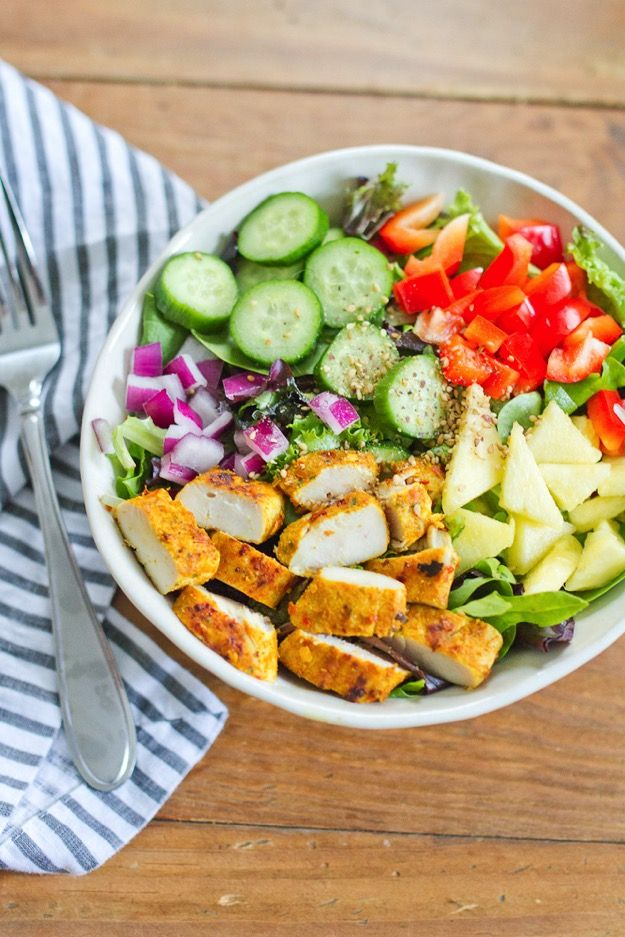 Thai Curry Chicken Salad with a Creamy Dijon Dressing | Salads/Sides ...