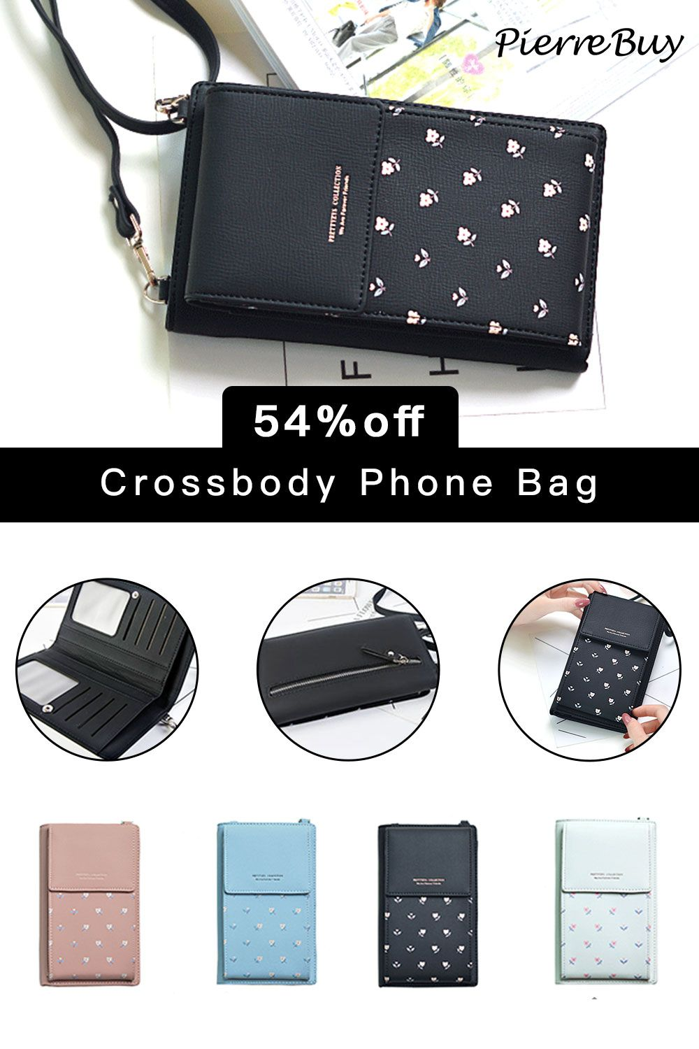 Cell Phone Purse Triangle Avocado Crossbody Bag Womens Lightweight Portable Small Wallet Waterproof PU Leather Mini Shoulder Bag Easy Care Phone Wallet For Shopping Date Hiking