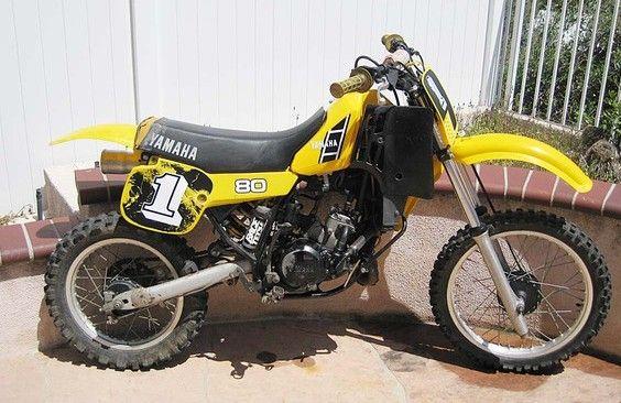 1983 Yz80 1983 Yamaha Yz80 Motocross Specifications Motocross Racing Bikes Cool Bikes
