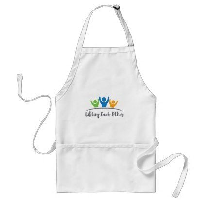 Lifting Each Other Adult Apron - good gifts special unique customize style