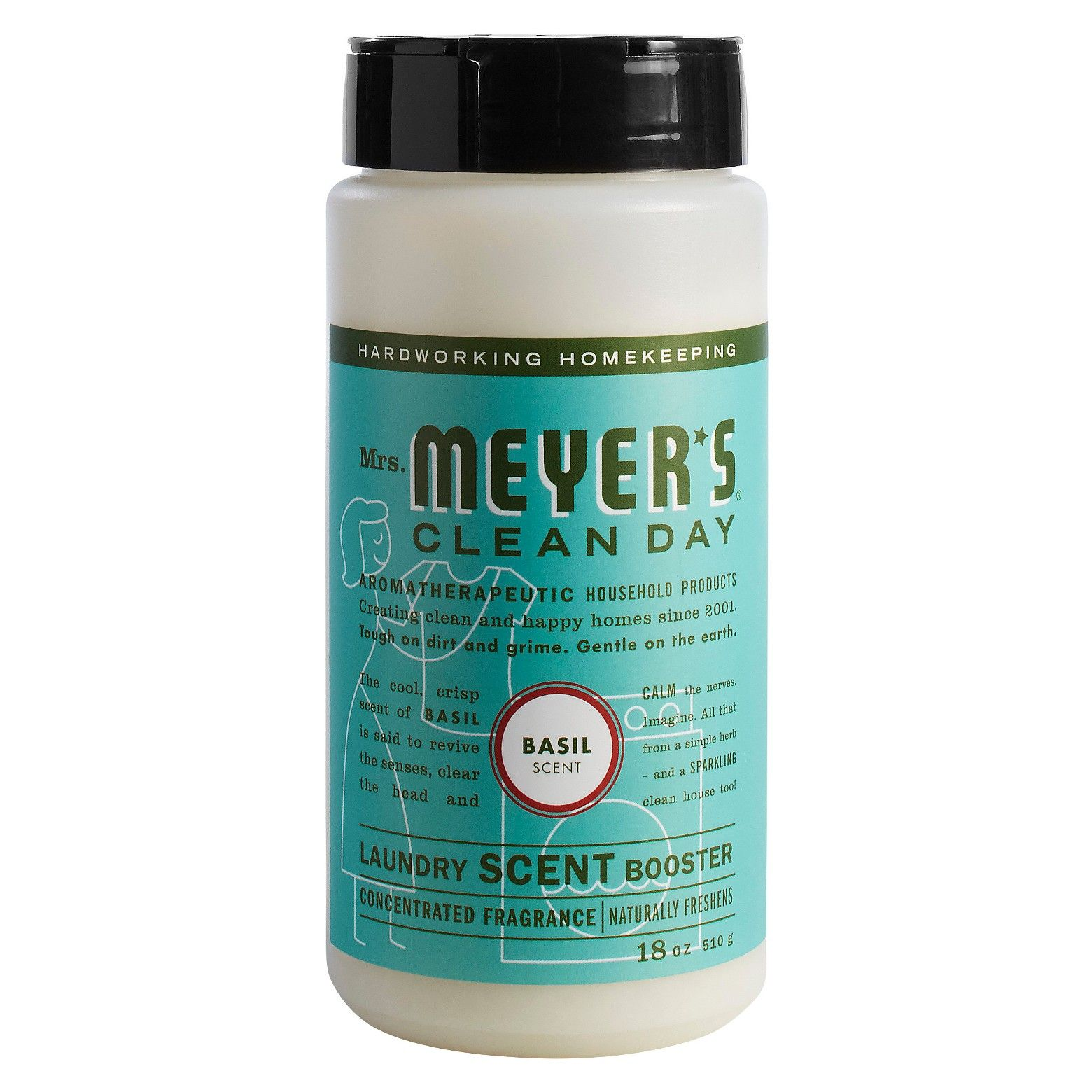 Mrs Meyer S Basil Scent Laundry Scent Booster 18oz Laundry
