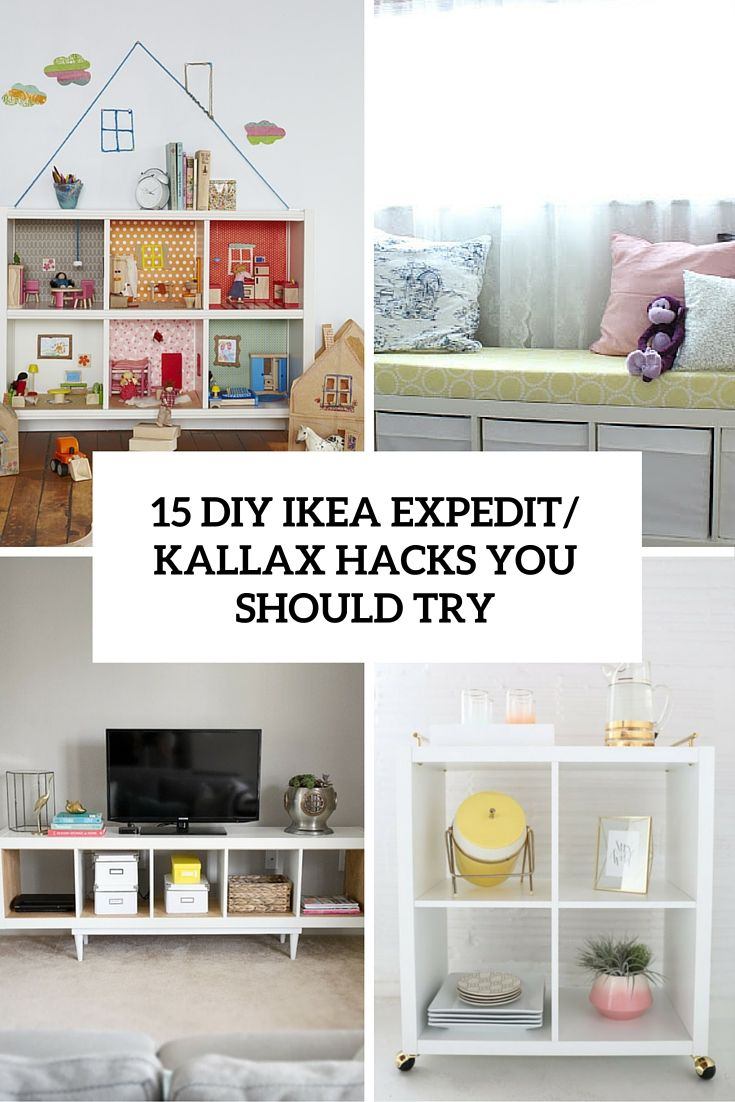 15 Diy Ikea Kallax Shelves Hacks You Could Attempt Ikea Diy