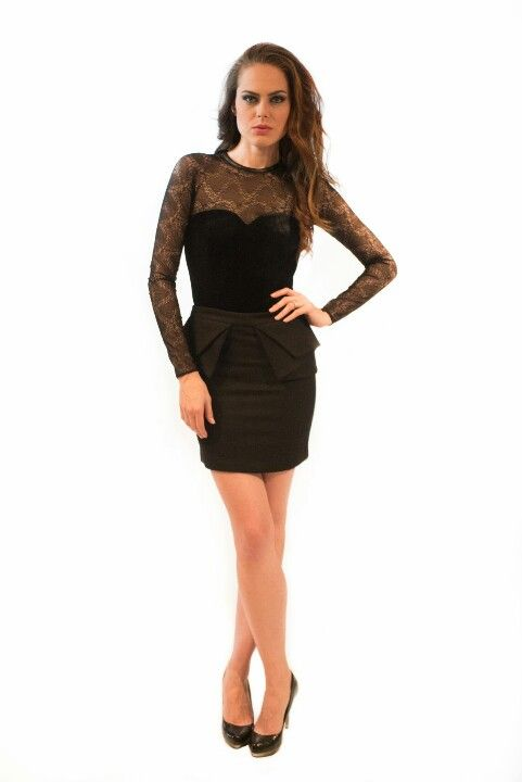 Sleek and chic! Check out this LBD and much more at evorasatelier.com