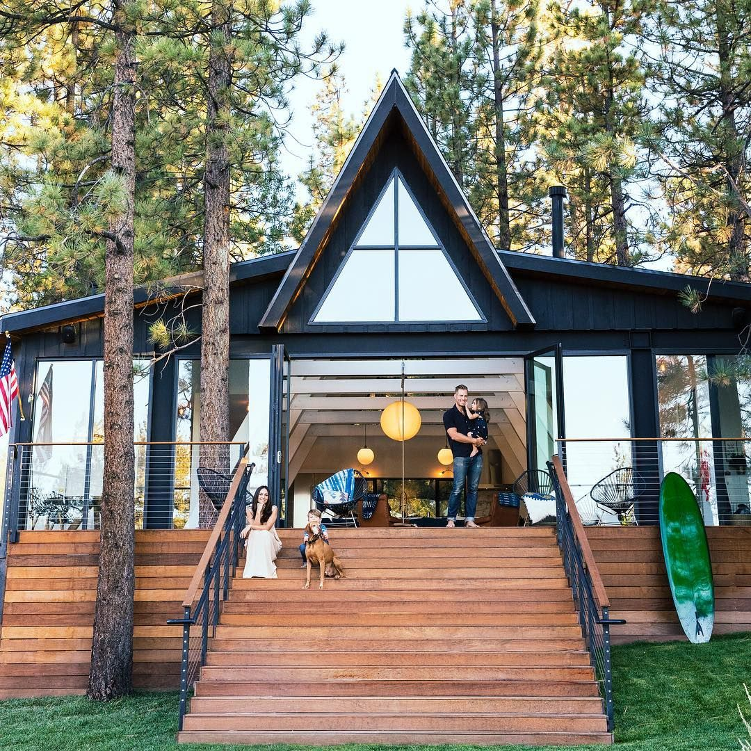 Sunset Magazine On Instagram When Jason And Laura O Dell First Checked Out A Mouse Friendly Woebegone 1963 A Frame Sunset Magazine Big Bear Lake Lake House