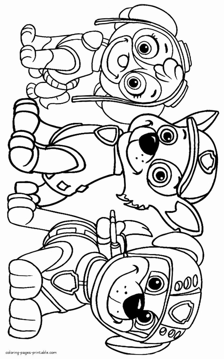 Printable Dog Coloring Sheets In 2020 Paw Patrol Coloring Pages