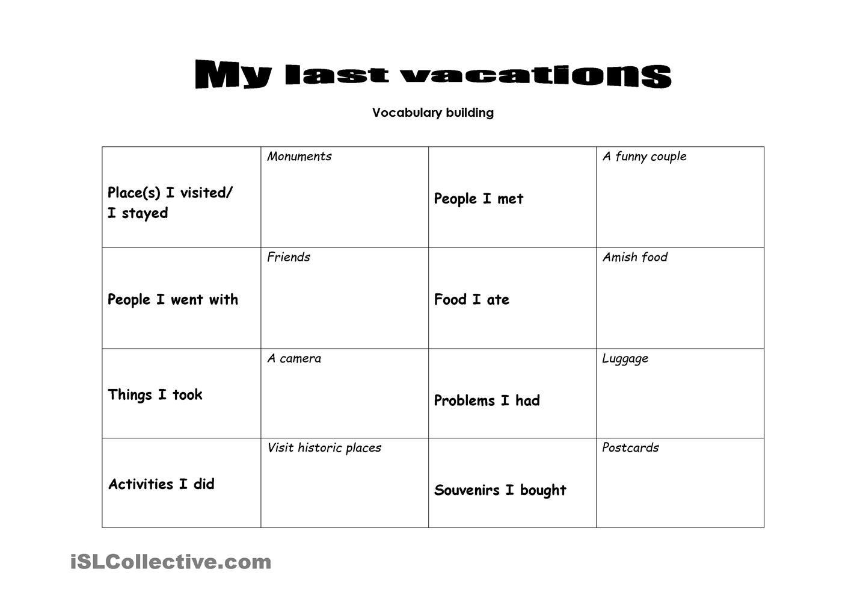 Last Vacations