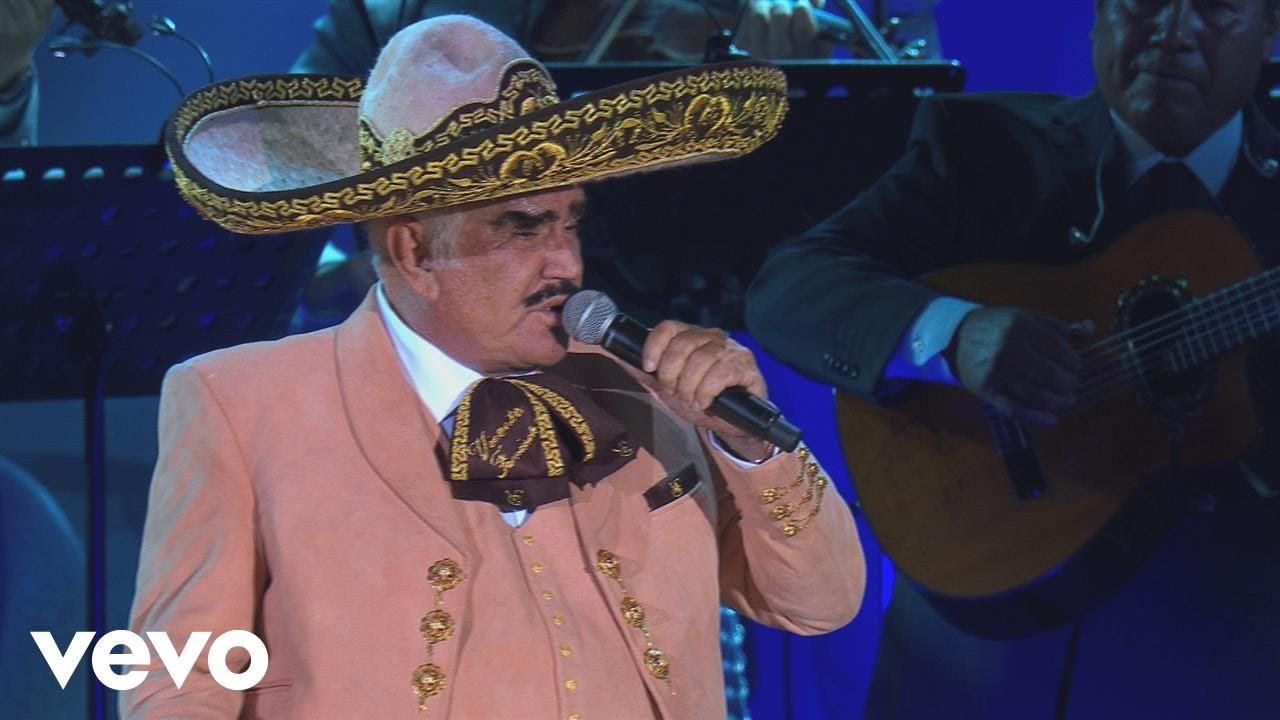 Vicente Fernández Acá Entre Nos En Vivo Un Azteca En El Azteca Vicente Fernandez Alejandro Fernandez Aztecas
