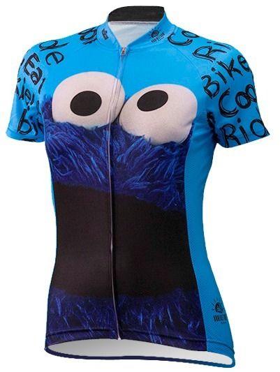 54d9ee9b1 Sesame Street Women s Cookie Monster Cycling Jersey