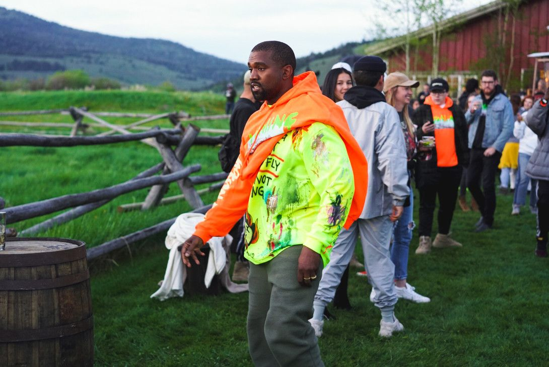 Take An Exclusive Look At The Merch From Kanye West S Wyoming Album Listening Party Kanye West Kanye Kanye West Style