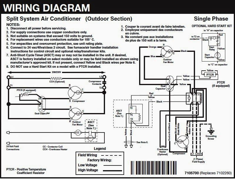 Electrical Wiring Diagrams For Air Conditioning Systems Part Two Elect Electrical Wiring Diagram Refrigeration And Air Conditioning Air Conditioning System