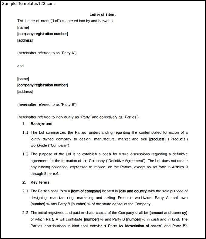 Sample Business Partnership Letter The Best Partner Termination Template  Word Format Idea Letter Of Intent Partnership