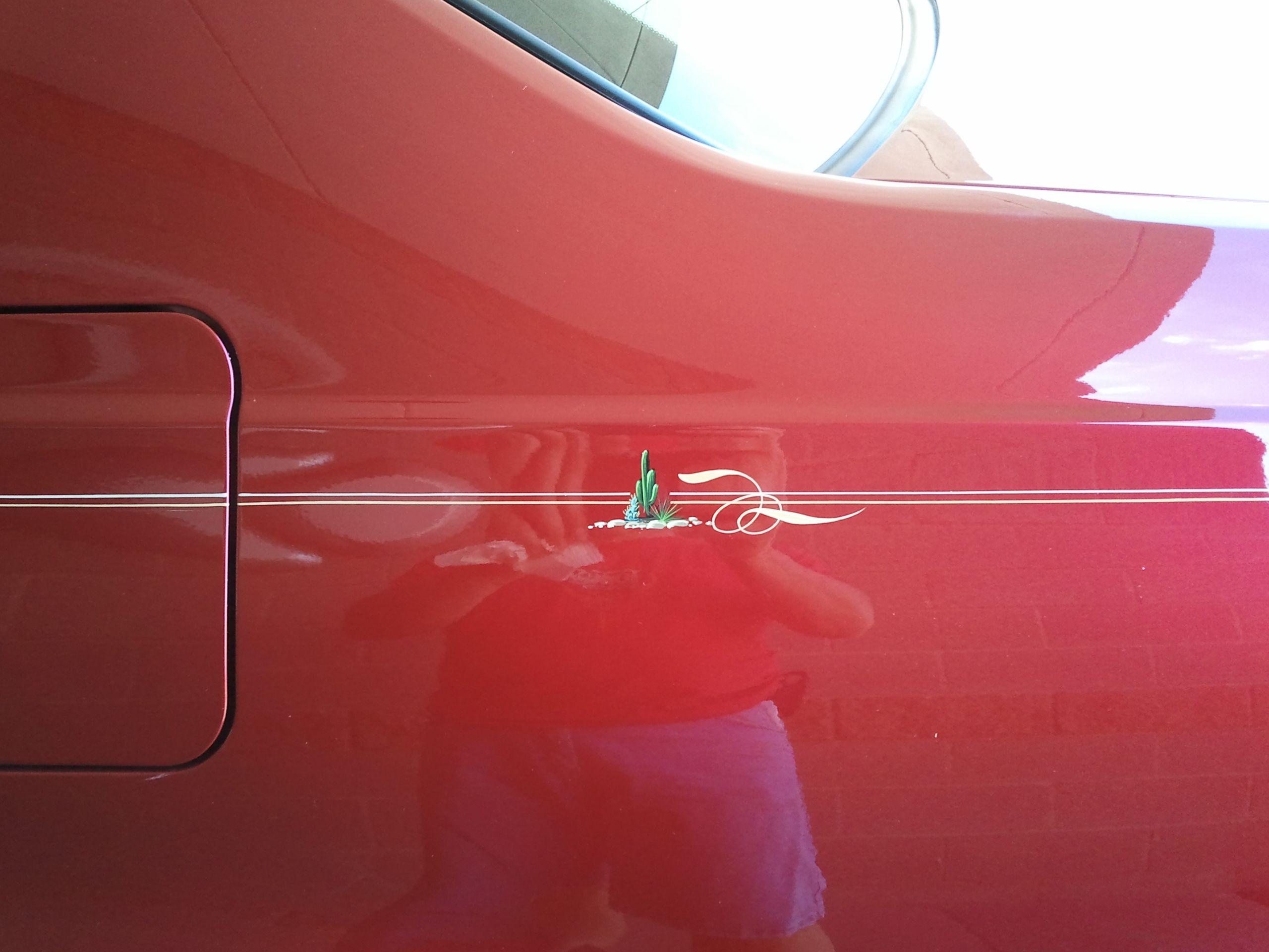 Classic cars authority cool pinstriping from the la roadster show - Pinstripes For Cars Phoenix Az Tony Perez Peoria Az Car Paint Goodyear