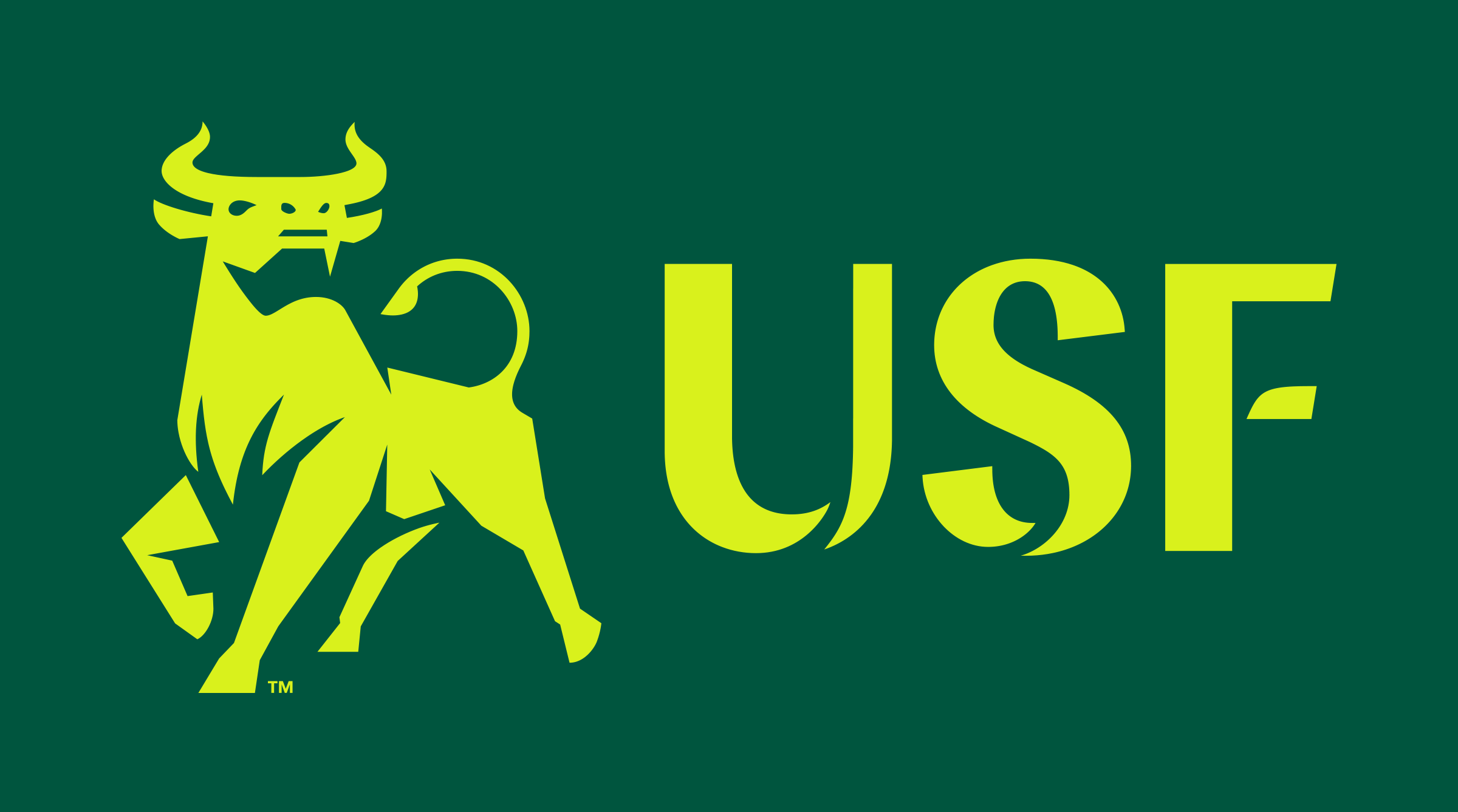 New Logo And Identity For University Of South Florida By Spark University Of South Florida Usf Bulls Usf