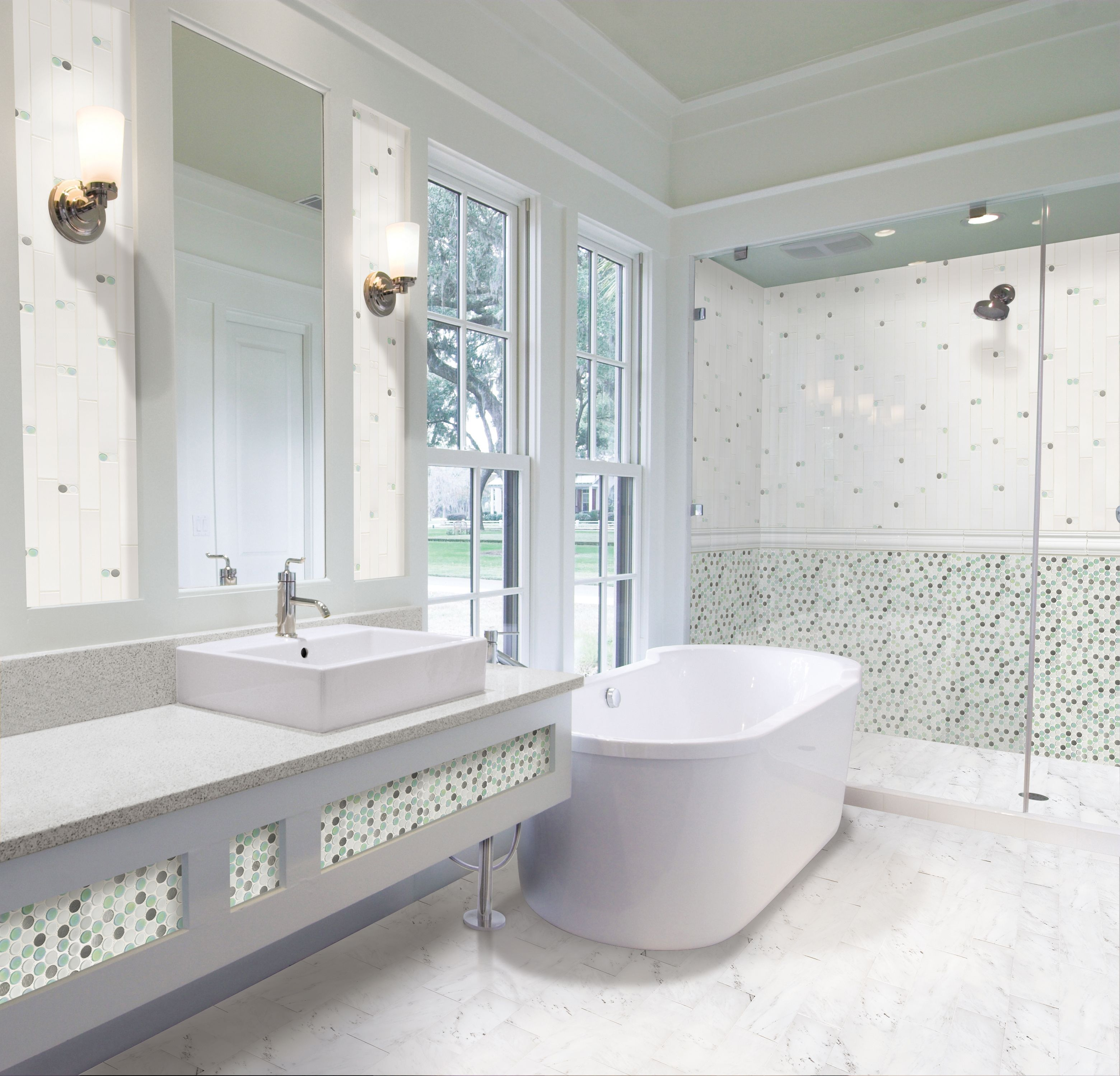 Tile Market & Design featured in several magazine ads --> Gorgeous ...