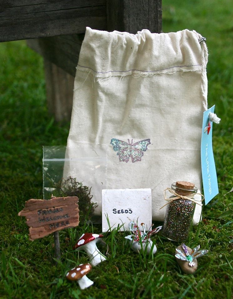 This Enchanted Fairy Garden Kit Is A Perfect. Use The Contents To Make Your  Own