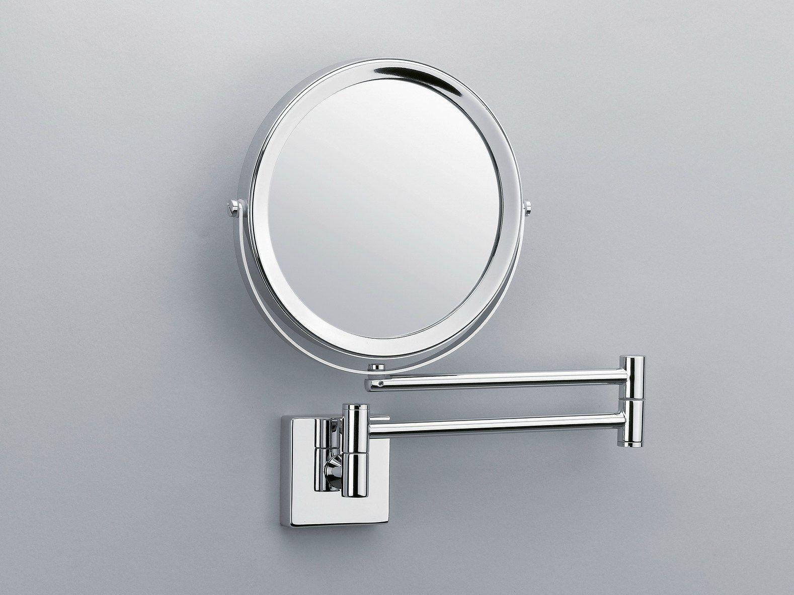 Espelho De Aumento Redondo De Parede Sp 28 2 V By Decor