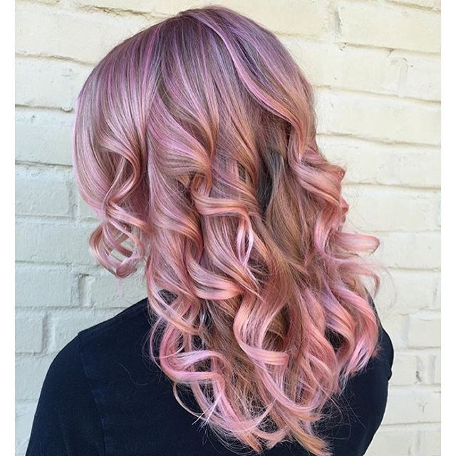Image Result For Dusty Rose Gold Purple