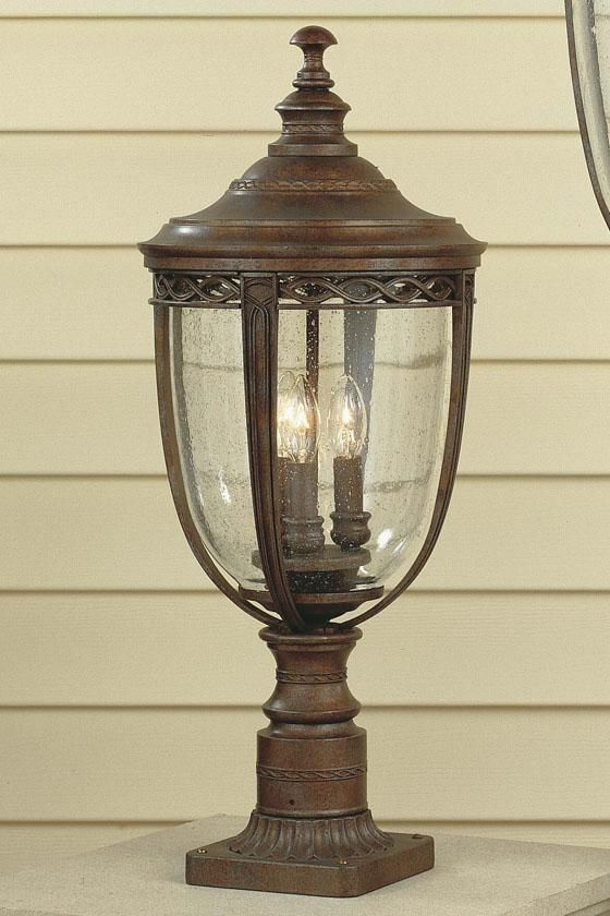 Darmoth Outdoor Lamp Post   Outdoor Lamp Post   Outdoor Lighting   Lighting  | HomeDecorators.