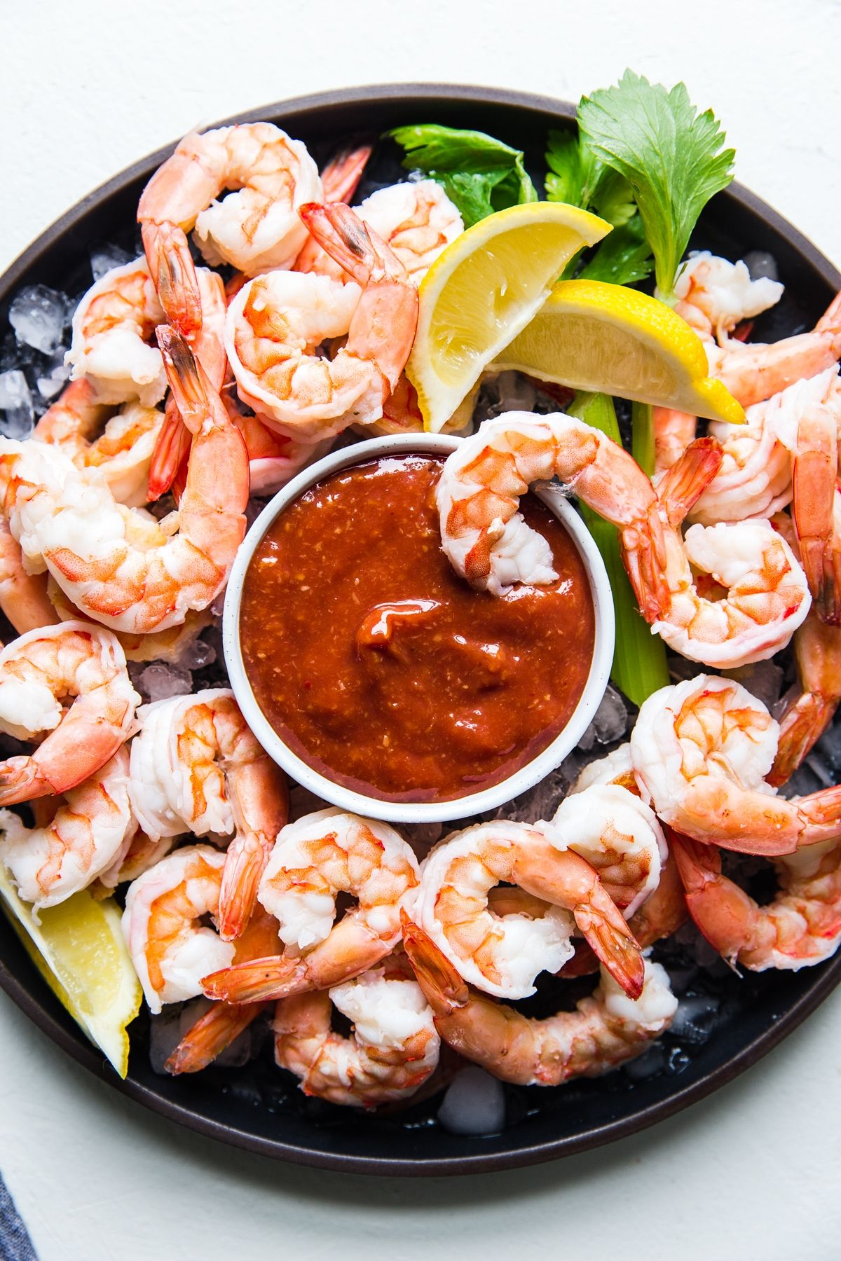 Shrimp Cocktail The Modern Proper Recipe In 2020 Recipes Shrimp Cocktail Crockpot Recipes Easy