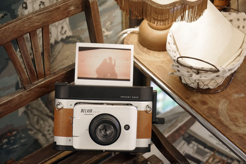 Belair Instant Back | I LOVE cameras! | Medium format camera