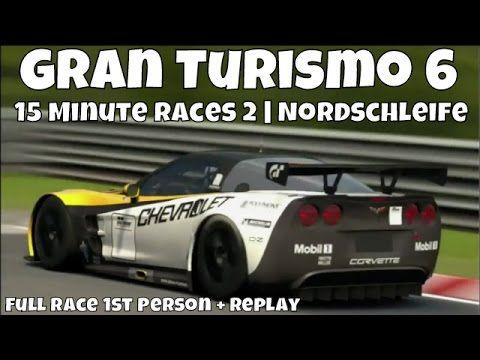 Gran Turismo 6 Nurburgring Nordschleife Corvette Zr1 C6 15