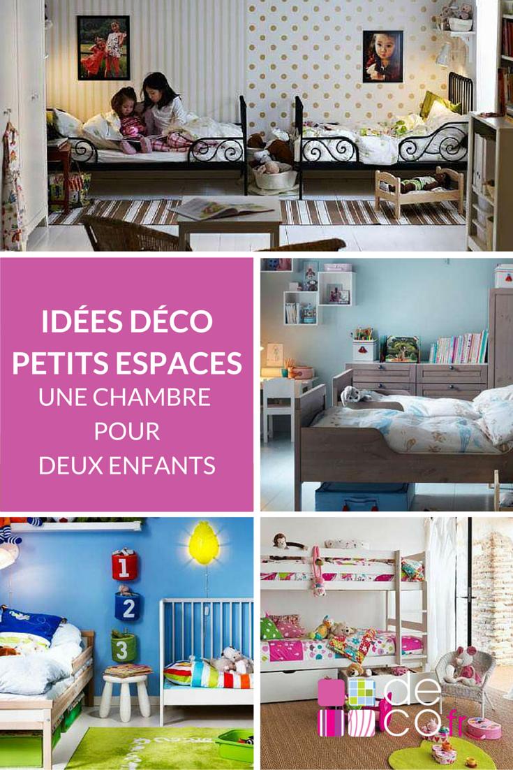 Petits espaces une chambre pour deux enfants chambre enfant chambre enfant chambre pour - Chambre petit espace ...
