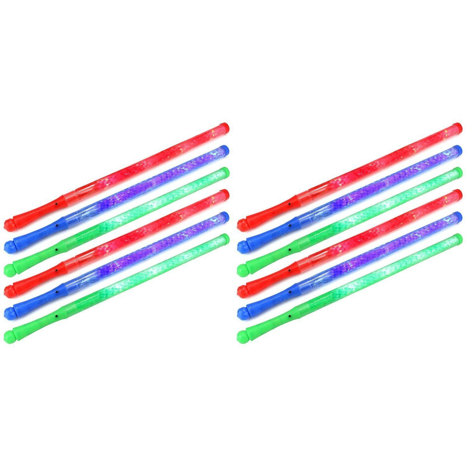 Velocity Toys Flashing LED Solid Light-up Party Favor Toy Light Sword Sabers