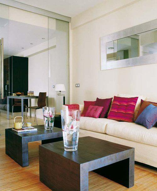 Casas y apartamentos peque os soluci n para separar for Ideas para apartamentos pequenos