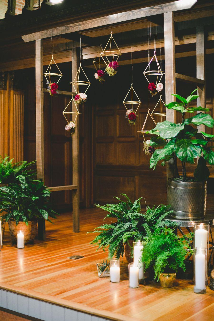 Mod Geometric Rustic Wedding At The Loft On Pine Rustic Style Wedding Unique Rustic Wedding Rustic Wedding Decor