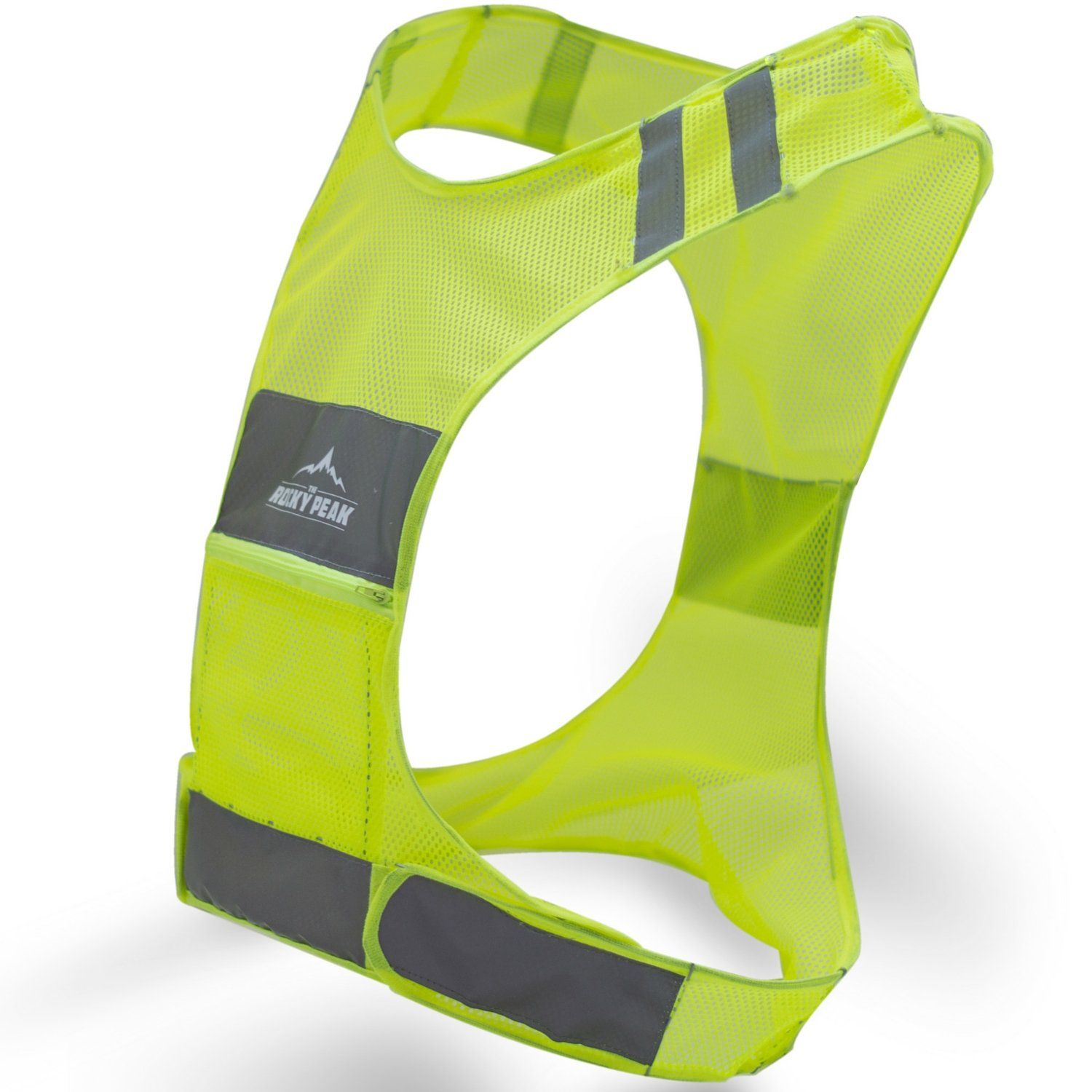 NEW Best Reflective Running Vest w/ Pocket 1