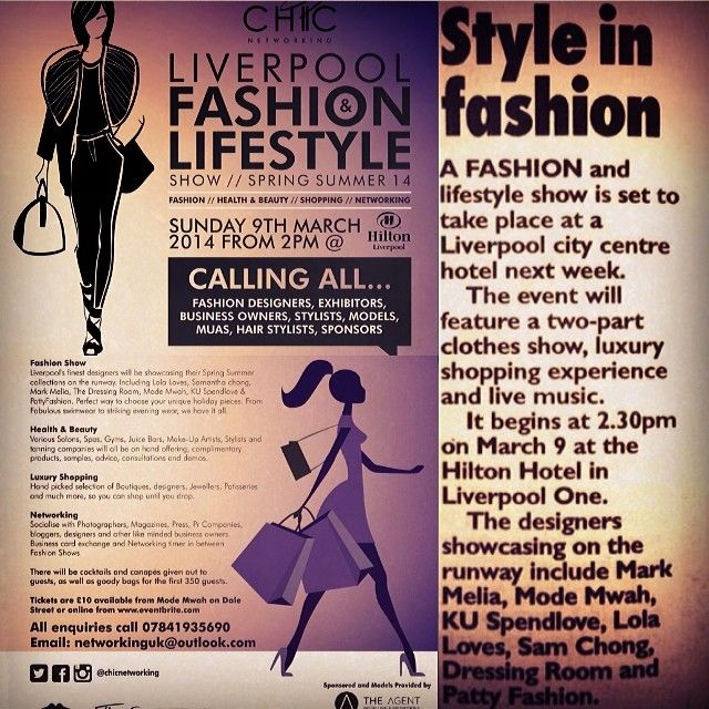 Liverpool Fashion Hilton Event #chicnetworking (With