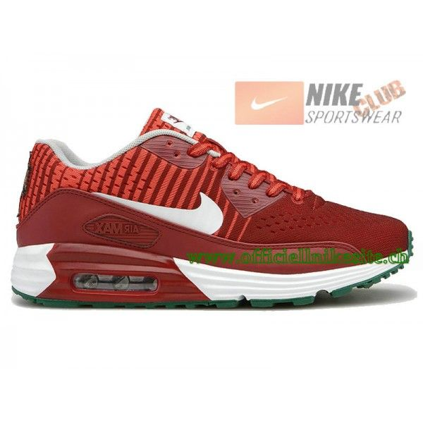 Nike Air Max 90 EM ID (Portugal) - Chaussures Nike ID Pour Homme Rouge