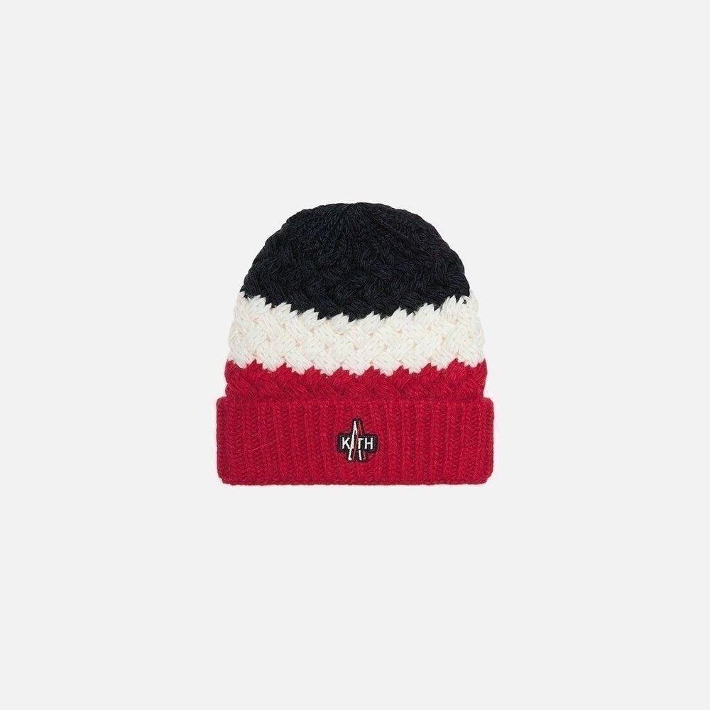 Kith X Moncler Men S Multi Color Wool Alpaka Knit Beanie Ebay Link Kith Knit Beanie Beanie