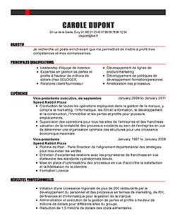 La Session A Expire Telecharger Cv Modele Cv Exemple Cv