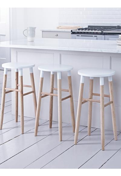 New Raw Oak Bar Stool White Stools Chairs Kitchen Oak Bar Stools Bar Stools Kitchen Stools