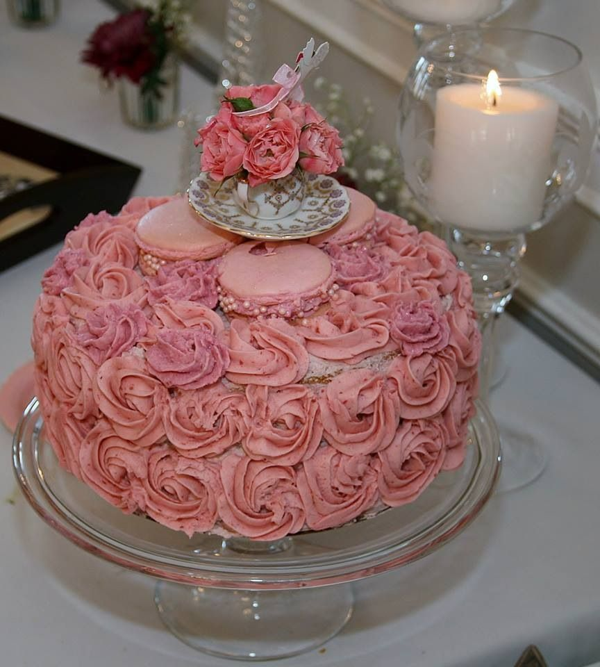 - Bridal shower cakes with ruffles and sugar peonies