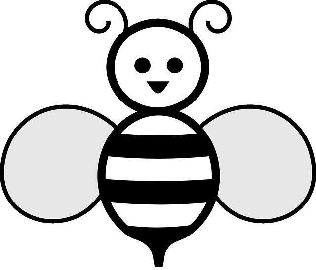Free Image On Pixabay Honey Bee Wasp Bee Black White Bee Clipart Honey Bee Images Bee Images