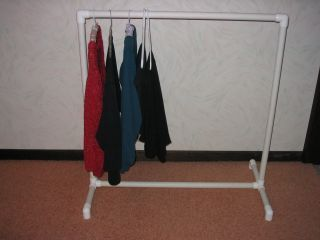 Walmart Clothes Hanger Rack Brilliant Made Thismuch Better Than The Cheap Garment Racks From Walmart Decorating Design