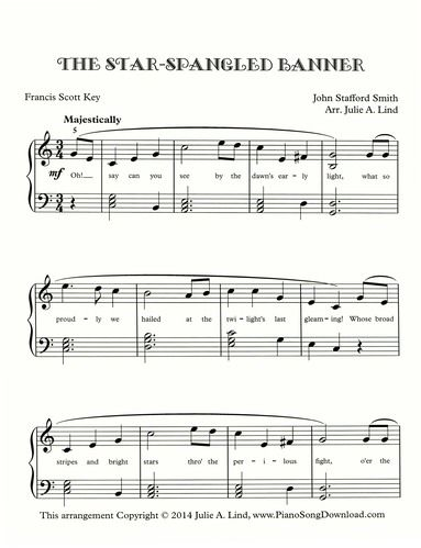 the star spangled banner free piano sheet music music in 2019 piano sheet music piano. Black Bedroom Furniture Sets. Home Design Ideas