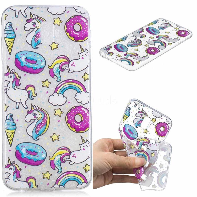 f5ca8e44a1d Cake Unicorn Super Clear Soft TPU Back Cover for Samsung Galaxy J6 Plus /  J6 Prime - Galaxy J6 Plus Cases - Guuds #case #guuds #samsung