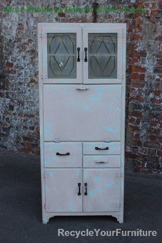 Best 1950 S 60 S Retro Vintage Painted Distressed Kitchen 640 x 480