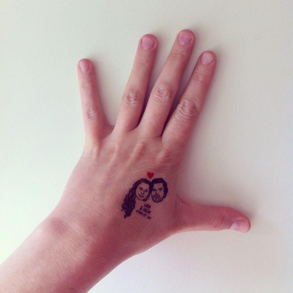 Custom Portrait Tattoo @lilimandrill www.lilimandrill.fr @etsy ...