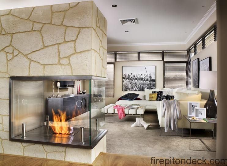 Gas fireplace and Showroom
